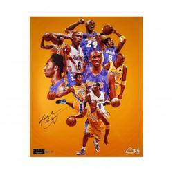 "Kobe Bryant Signed Lakers ""Greatness"" 24x30 Limited Edition Photo (Panini COA)"