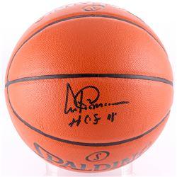 "Artis Gilmore Signed NBA Game Ball Series Basketball """"HOF 11"" (Jersey Source COA)"