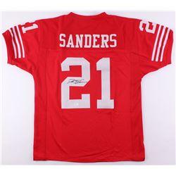 Deion Sanders Signed Jersey (JSA COA)
