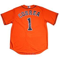 Carlos Correa Signed Astros Jersey (TriStar Hologram)