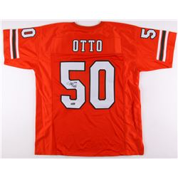 "Jim Otto Signed Jersey Inscribed ""H.O.F. 1980"" (Radtke COA)"