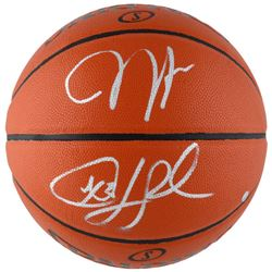 James Harden  Chris Paul Signed Spalding Basketball (Fanatics)