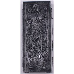 "Harrison Ford Signed ""Star Wars"" Han Solo 2.75x6.75 Encased In Carbonite Mini Replica (Radtke COA)"