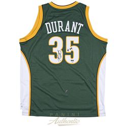 "Kevin Durant Signed Supersonics Limited Edition Jersey Inscribed ""08 ROY"" (Panini COA)"