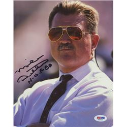 "Mike Ditka Signed Bears 8x10 Photo Inscribed ""H.O.F. 88""  (PSA COA)"