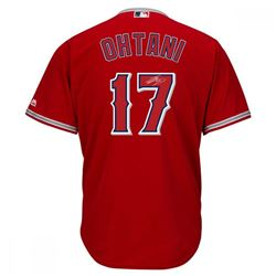 Shohei Ohtani Signed Angels Authentic Majestic Jersey (Steiner Hologram  MLB Hologram)