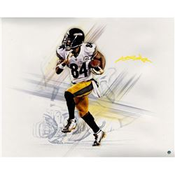 Antonio Brown Signed Steelers 16x20 Photo (Steiner COA)