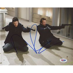 "Norman Reedus Signed ""Boondock Saints"" 8x10 Photo (PSA COA)"