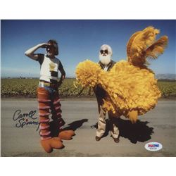 "Caroll Spinney Signed ""Sesame Street"" 8x10 Photo (PSA COA)"