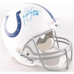 Marshall Faulk Signed Colts Full-Size Helmet (Radtke COA)