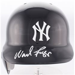 Wade Boggs Signed Yankees Authentic Full-Size Batting Helmet (Steiner Hologram)