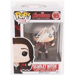 "Stan Lee Signed ""Scarlet Witch"" #95 Avengers: Age of Ultron Marvel Bobble-Head Funko Pop Vinyl Figur"