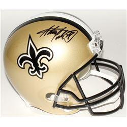 Adrian Peterson Signed Saints Full-Size Helmet (Jersey Source COA  Fanatics Hologram)