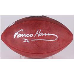 Franco Harris Signed Super Bowl XIV Official NFL Game Ball (Radtke COA)
