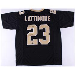 """Marshon Lattimore Signed Jersey Inscribed """"2017 DROY"""" (Radtke COA)"""