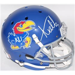 Aqib Talib Signed Kansas Jayhawks Full-Size Helmet (Radtke COA)