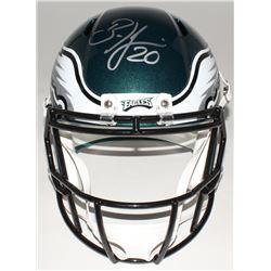 Brian Dawkins Signed Eagles Full-Size Speed Helmet (JSA COA)