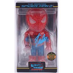 """Stan Lee Signed """"Spider-Man 2"""" Marvel Hikari Vinyl Action Figure (Radtke Hologram  Lee Hologram)"""