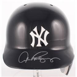 Alex Rodriguez Signed Yankees Full-Size Batting Helmet  (Steiner COA)