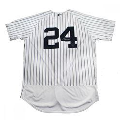Gary Sanchez Signed Yankees Jersey (Steiner COA)