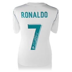 Cristiano Ronaldo Signed Real Madrid Shirt (Icon Sports COA)
