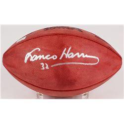 Franco Harris Signed Super Bowl X Official NFL Game Ball (Radtke Hologram)