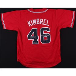 "Craig Kimbrel Signed LE Jersey Inscribed ""Rookie Saves Record 8-31-2011""  ""155 Saves 06-06-2014""  (R"