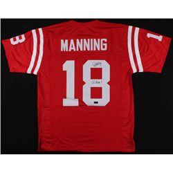 """Archie Manning Signed Jersey Inscribed """"Go Rebs!"""" (Radtke COA)"""