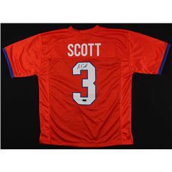 Artavis Scott Signed Jersey (Radtke COA)