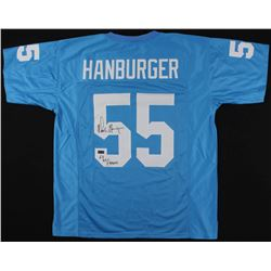 "Chris Hanburger Signed Jersey Inscribed ""63 ACC Champs"" (Radtke COA)"