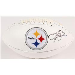 Le'Veon Bell Signed Steelers Logo Football (JSA COA)