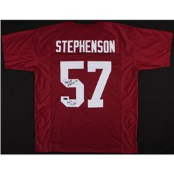 "Dwight Stephenson Signed Jersey Inscribed ""Roll Tide!"" (Radtke COA)"
