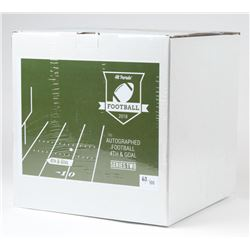 Hit Parade Signed 4th  Goal Football Hobby Box- 2018 Series 2 - with (4) Autographed Items Per Box (