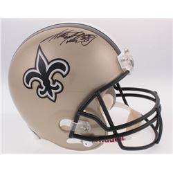 Adrian Peterson Signed New Orleans Saints Full-Size Helmet (Fanatics Hologram)