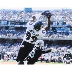 Steve Smith Sr. Signed Ravens 16x20 Photo (Radtke COA)