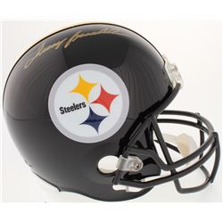Terry Bradshaw Signed Steelers Full-Size Helmet (Steiner COA  Bradshaw Hologram)