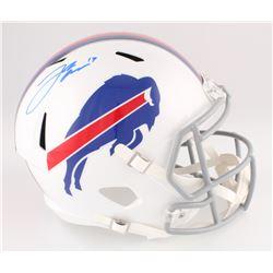 Josh Allen Signed Buffalo Bills Full-Size Speed Helmet (Beckett COA)