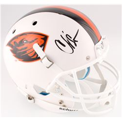 "Chad ""Ochocinco"" Johnson Signed Oregon State Beavers Full-Size Helmet (Radtke COA)"