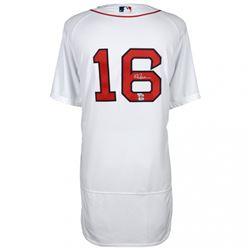 Andrew Benintendi Signed Red Sox Majestic Jersey (MLB Hologram  Fanatics Hologram)