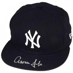 Aaron Judge Signed Yankees New Era Hat (Fanatics Hologram  MLB Hologram)