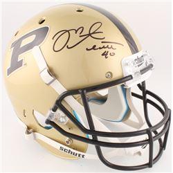 Mike Alstott Signed Purdue Boilermakers Full-Size Helmet (Radtke COA)