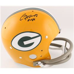 "Paul Hornung Signed Packers Full-Size TK Suspension Helmet Inscribed ""HOF 86"" (Radtke COA)"