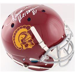 "Marcus Allen Signed USC Trojans Full-Size Authentic On-Field Helmet Inscribed ""Heisman 81"" (Radtke C"