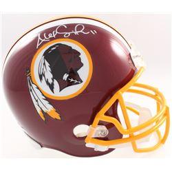 Alex Smith Signed Redskins Full Size Helmet (Beckett COA  Denver Autographs COA)