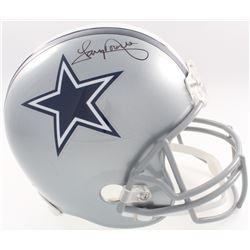 Tony Dorsett Signed Cowboys Full-Size Helmet (JSA COA  Denver Autographs COA)