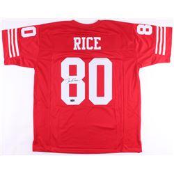 Jerry Rice Signed Jersey (Radtke COA)