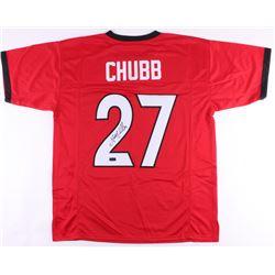 Nick Chubb Signed Jersey (Radtke COA)