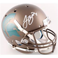 Le'Veon Bell Signed Michigan Spartans Full-Size Helmet (JSA COA)