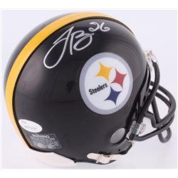 LeVeon Bell Signed Steelers Mini-Helmet (JSA COA)