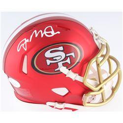 Joe Montana Signed San Francisco 49ers Riddell Blaze Mini Helmet (JSA COA)